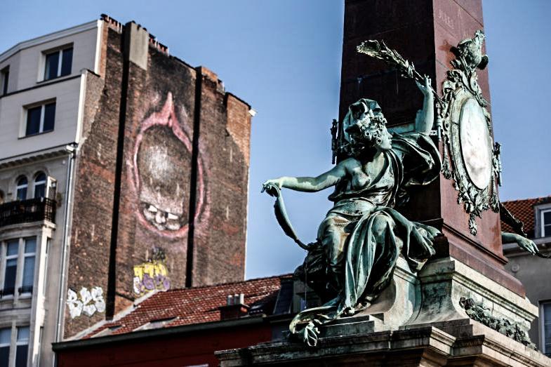 BELGIUM-LIFE/EXPLICIT GRAFFITIS